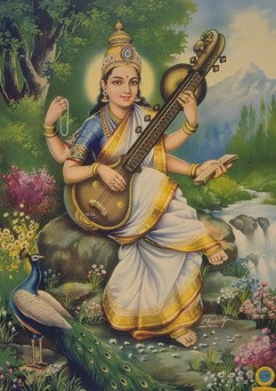 Vedic way to victory new year message by swami paramarthananda ji then there is another important deity saraswati from saraswati devi we have to seek two types of knowledge fandeluxe Image collections